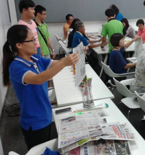 40 senior citizens, UCTS students in 'green concept' activity