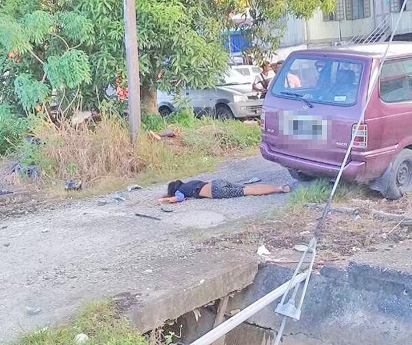 Motorbike pillion rider dies in crash with MPV