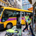 Runaway schoolbus kills four in Hong Kong