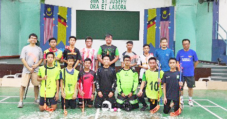Introducing the  fast-paced 'Floorball'