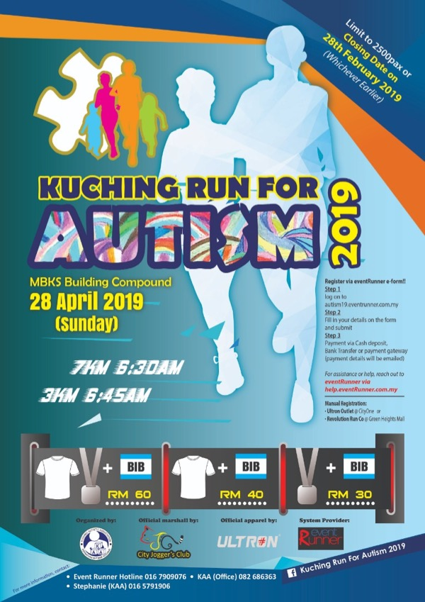Kuching Run for Autism 2019: See the ability