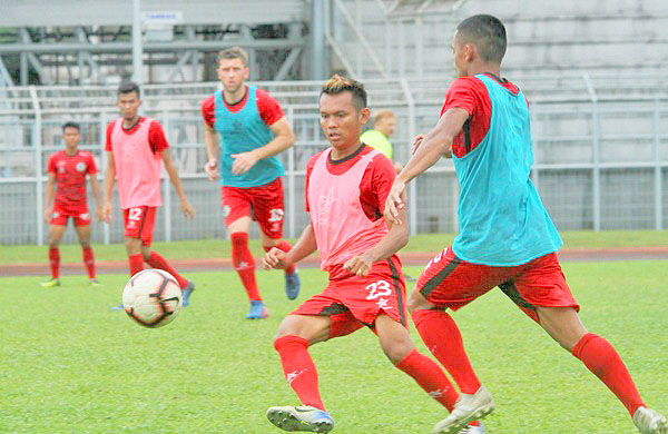 Sarawak to take on PDRM  without two key defenders