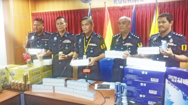 Contraband worth over RM300,000 seized