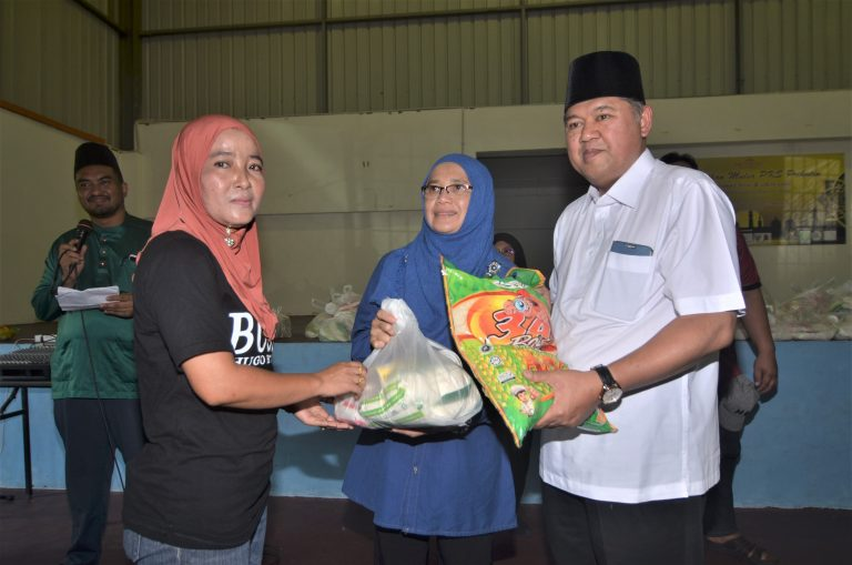 50 village needy get contributions at event