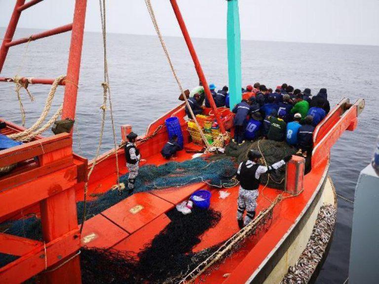 Navy seizes Vietnamese fishing boat
