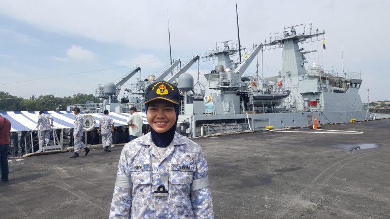 'Girls can join the military, too'