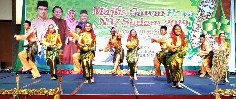 750 guests at Gawai-Raya Stakan do
